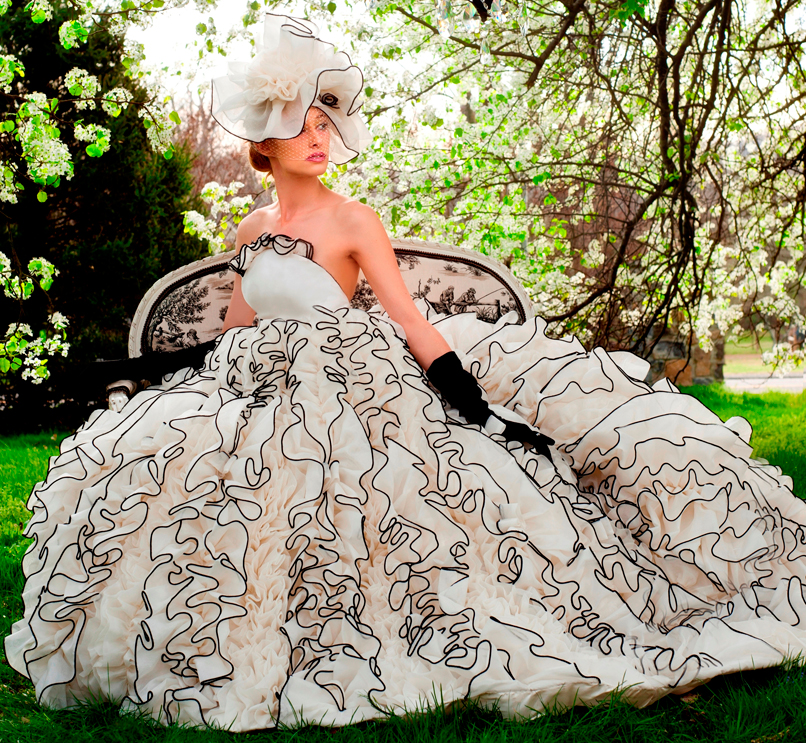 Wedding Dress Designers' Iconic